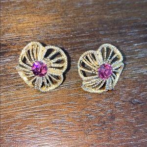Gorgeous Flower Stud Earrings